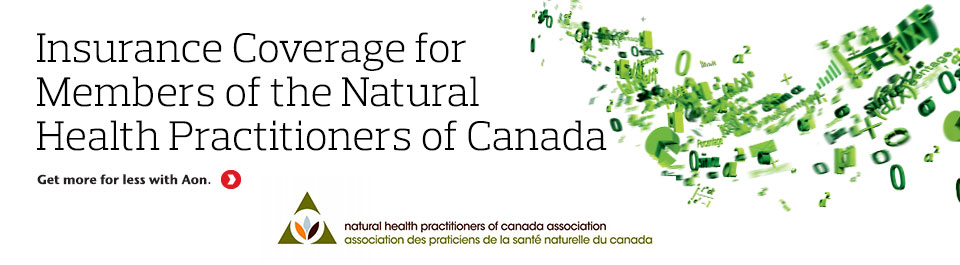 Insurance Program for Members of the Natural Health Practitioners of Canada